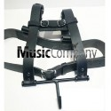 Bass Drum Harness Black Leather