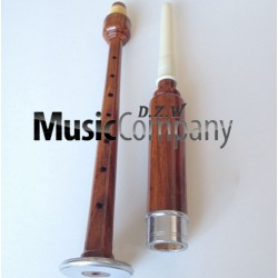 Plain Mounted Rosewood Practice Chanter