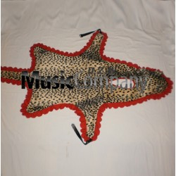 Bass Drum Apron Imitation Leopard Skin