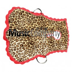 Tenor Drum/Cymbals Player Apron Imitation Leopard Skin