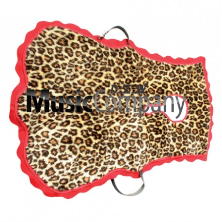Tenor Drum/Cymbals Player Apron Apron Imitation Leopard Skin