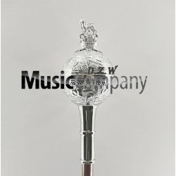 Spare Embossed Ball Mace Head with Crown and Lion
