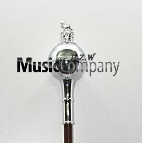 Spare Plain Ball Mace Head with Crown and Lion