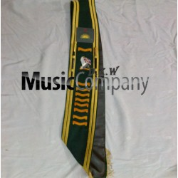 Custom Hand Made Embroidery Drum Major Baldric Sash