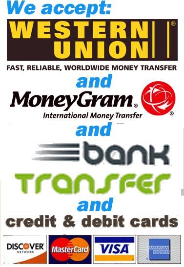 WesternUion & MoneyGram Logo & BankTrans